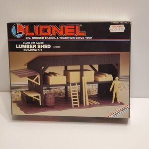 Lionel Lumber shed 6-12705 building kit. New